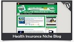 Health Insurance Niche Blog Wordpress Theme